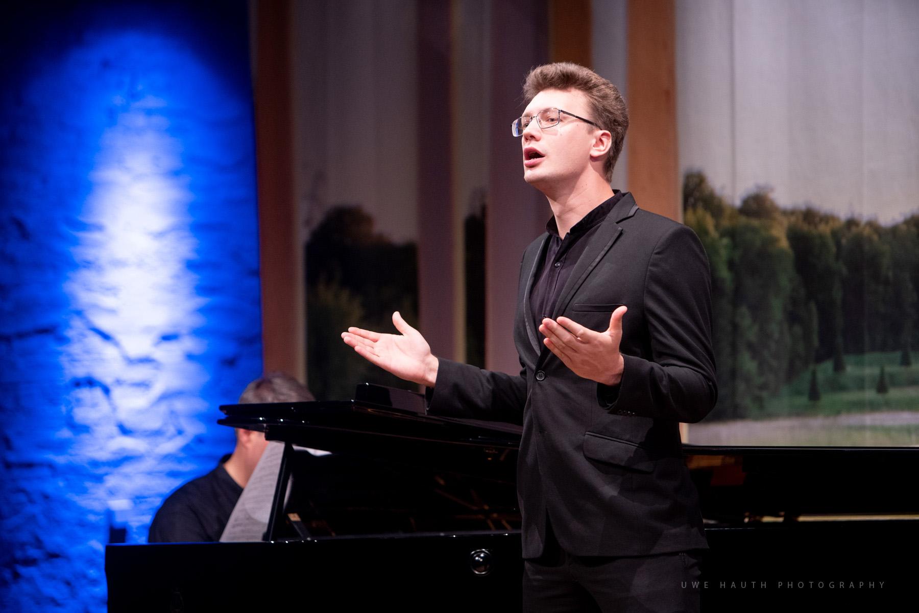 Sänger der Kammeroper beim Auftritt im Schlosstheater