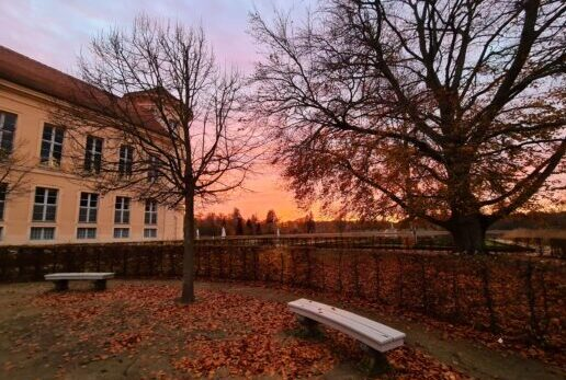 Schloss Rheinsberg in der Abendsonne