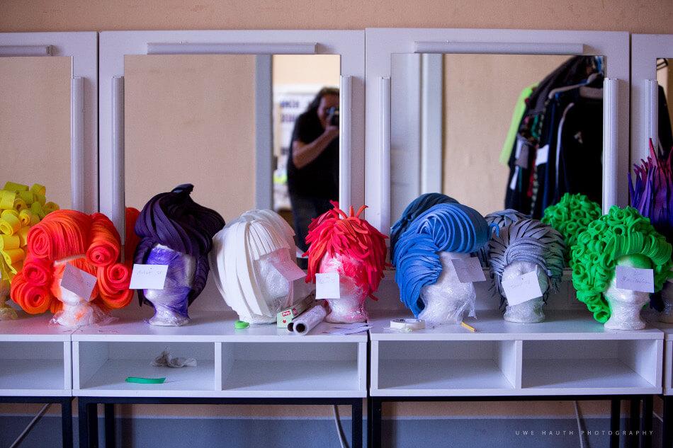 """Kursbild BAJMT Workshop """"Bühne, Kostüme und Maske"""""""