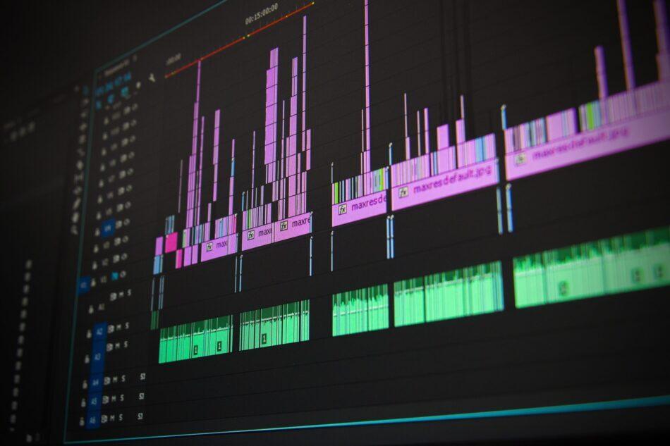 Aufnahmeprogramm am Laptop
