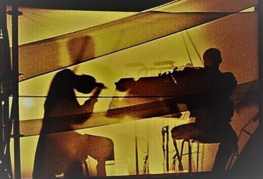 Schatten zweier Musiker