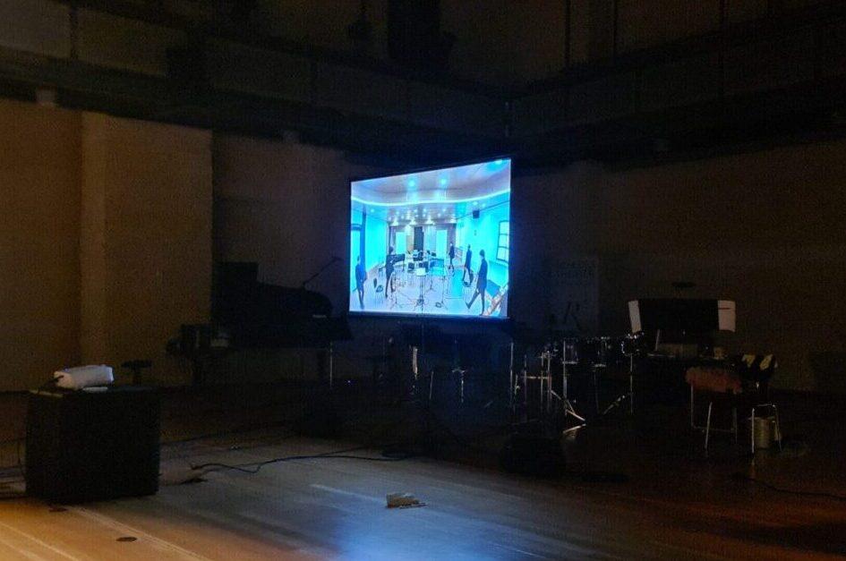 Live-Übertragung des Ensemble degli Intrigati